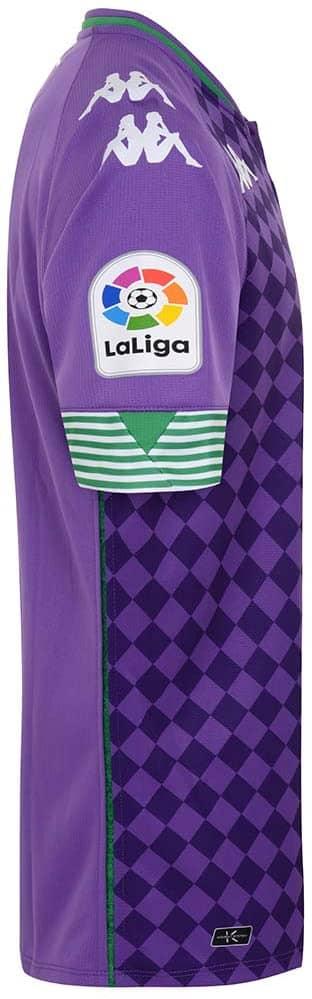 camiseta Betis 2021 visitante lateral